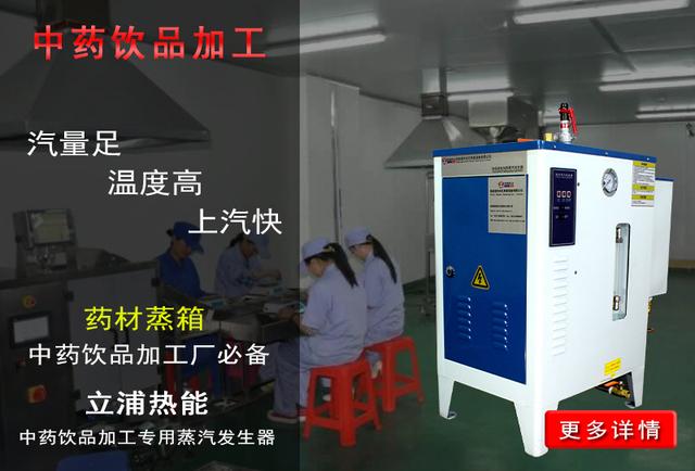 中药饮品加工专用蒸汽发生器