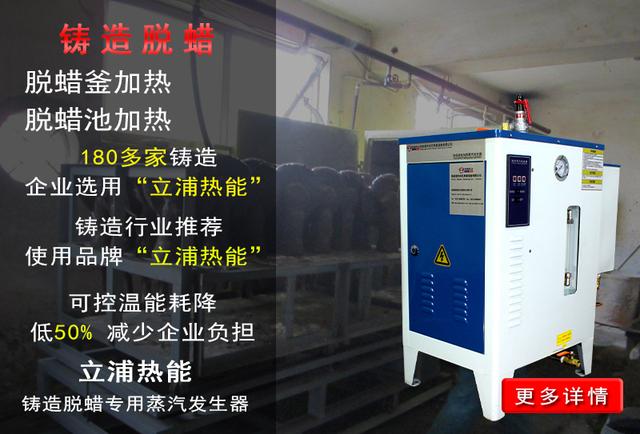 铸造脱蜡专用蒸汽发生器